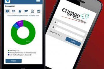 school mis mobile app for engage management information system