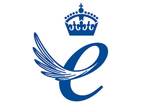 Queens Award for Enterprise International Trade 2016 Emblem