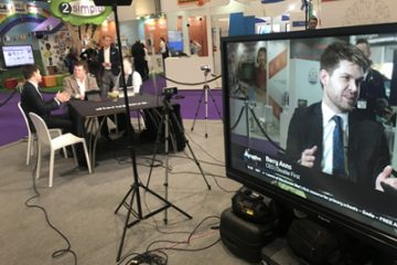 Barry Anns on BETT's Big Screen
