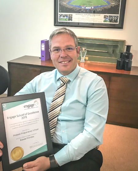 Eswee Prinsloo - School of Excellence 2019 for Southern Africa